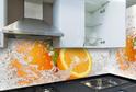 Кухня пленка МДФ белый глянец
