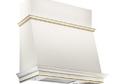 Вытяжка ELIKOR Баривьера 90 бежевыый / дуб белый патина золото