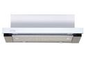 Вытяжка ELIKOR Интегра GLASS 50 нержавеющая сталь / белое стекло