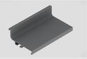 Профиль-ручка L-2025/4050 мм для верх.ящ. н/б, алюминий 52113/02113