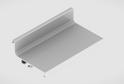 Профиль-ручка L-2025/4050 мм для верх.ящ. н/б, белый 52160/02160