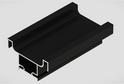 Профиль-ручка L-4500 вертикальная средняя, черный