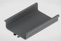 Профиль-ручка L-2025/4050 мм для сред.ящ. н/б, алюминий 52114/02114