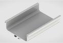 Профиль-ручка L-2025/4050 мм для сред.ящ. н/б, белый 52171/02171