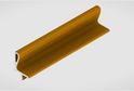 Профиль-ручка L-2025/4050 мм для нав.ящ. в/б, золото