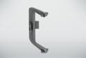 Угол внутренний для профиля сред.ящ н/б, серый 02227