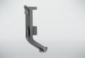 Угол внутренний для профиля верх.ящ н/б, серый 02229