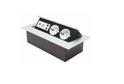 Удлинитель прямоуг-й 2 роз+USB+миниджет+интернет GTV, арт.7506